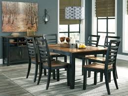 quinley two tone erfly extendable rectangular dining room set a gallery 2