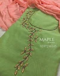 New Design New Design Embroidery Neck Designs Bead Embroidery