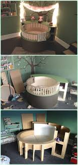diy baby furniture. DIY Circle Crib Instruction - Baby Projects [Free Plans] Diy Furniture N