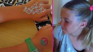 набор для рисования тату делаем поп арт тату своими руками Kids Toys игры для детей осень 2016