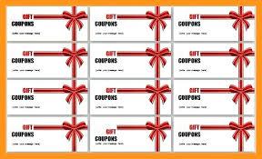 coupon templates word simple coupon christmas template book diy templates harryho co