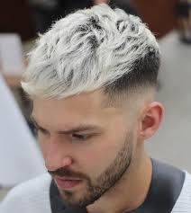 Couleur Cheveux Homme Blanc Gris Cheveux Long
