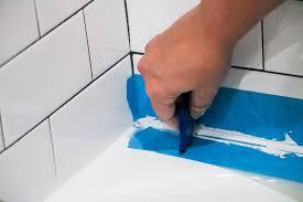 modern how to remove bathtub caulk luxury how to caulk a bathtub a cautionary