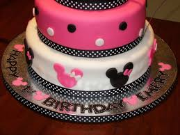 Minnie Mouse 1st Birthday Cake And Smash Cake Cakecentralcom