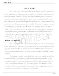Lab Report Abstract Example Chemistryntroduction High School