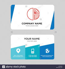 Mdm Stock Chart Simple Chart Business Card Design Template Visiting For