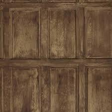 Faux Wainscoting Wallpaper Washington Wallcoverings Brown And Gray Faux Wood Slats Wallpaper