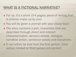 fictional narrative extended constructed response essay ppt  2 what
