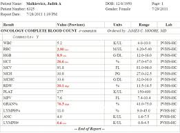 Cbc With Differential Chart Cbc Normal Values For Neonates 1