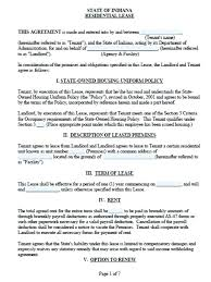 Lease Document Template Simple Lease Agreement Template Free Simple