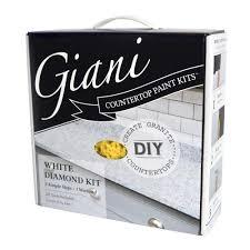 Paint Countertops White Giani Granite White Diamond Countertop Paint Kit Fg Gi Wht Di
