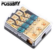 online get cheap waterproof fuse box com alibaba group 1 pcs car auto vehicles audio 1 in 4 ways out fuse holder fuse box universal waterproof car stereo audio part electronics