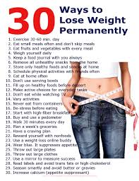 30 Ways to Lose Weight Fast and Permanently | Monterey Bay Holistic ...
