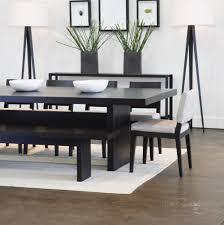 modest modern dining room table with bench in por interior design minimalist garden dining room dining