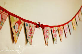 Fabric banners diy Signs Instructables Fabric Pennant Banner Tutorial Steps