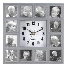 how to diy creative photo frame wall clock 3