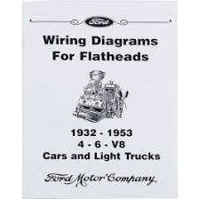 ford ford wiring diagrams for flatheads v ford wiring diagrams for flatheads 1932 53 4 6 v8 ford cars light trucks 10 pages