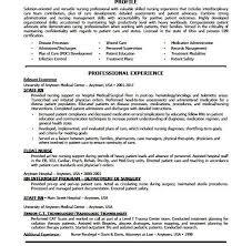 Infection Control Nurse Resume Med Surg Nurse Resume Rn Sample Hospice  Sampl with Rn Resume Images