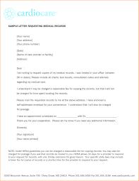 Medical Records Cover Letter Choice Image Cover Letter Sample
