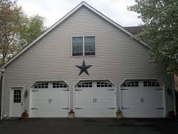 Residential garage door White Residential Garage Door Installed By Valley Lock Door In East Greenville Pa Residential Garage Door Installation Valley Lock Door