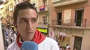 Entrevista con el torero Alberto Aguilar en San Fermín 2013 - 1373360522945
