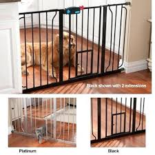 metal pet gate dog gates for stairs uk wide6