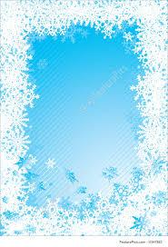 Christmas Snowflake Clipart Border