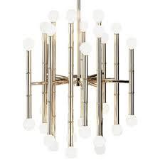 robert abbey jonathan adler meurice 30 light chandelier in polished nickel