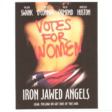 iron jawed angels the women s suffrage movement and social  iron jawed angels