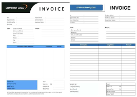Invoice Templates In Word Idmanado Co