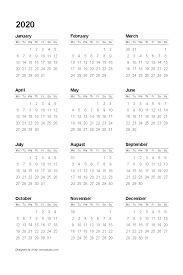 Editable 2015 2020 Calendar Free Printable Calendars And Planners 2020 2021 2022
