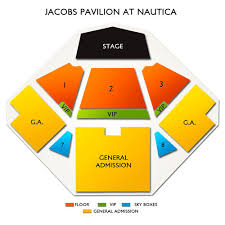 Jacobs Pavilion At Nautica Seating Chart 29 Symbolic Agora Theater Cleveland Seating Chart