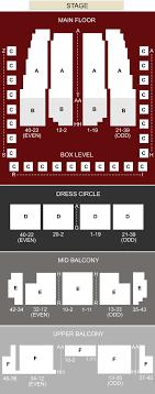Music Hall Seating Chart Detroit Mi Detroit Symphony Orchestra Hall Detroit Mi Seating Chart