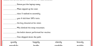 Fronted Adverbials Worksheet Pdf Best Of English Worksheets for ...