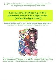 pdf read konosuba