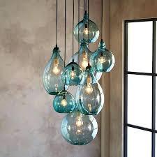 sea glass pendant lights renovation michalchovaneccom