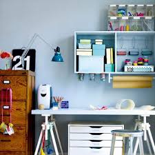 home office desk with storage. Wonderful Desk The Cool Thing About Such Hanging Blocks Is That You Can Mount Something At  Their Bottom To Home Office Desk With Storage R