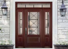 wooden front doors. Simple Single Solid Oak Front Doors With Glass , Main Wooden Door Designs For Home O