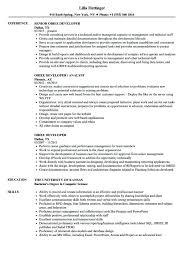 Obiee Resume Samples Professional Resume Templates