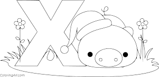 There is nothing more important than the love of your child. Letter X Coloring Pages Coloringall