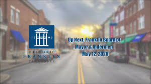 City of Franklin, TN - Municipal Government - City of Franklin, BOMA  Meeting 5-12-2020   Facebook