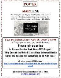 Ny Times 1619 Project Pdf
