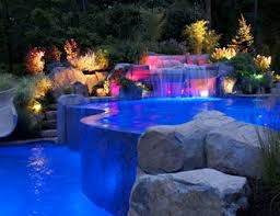 pool designs and landscaping. Infinity Edge Pool, Pool Lighting Swimming Cipriano Landscape Design Mahwah, NJ Designs And Landscaping A