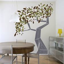 floors tree small modern art painting table wall with indust