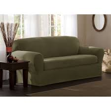 Sage Sofa amazon maytex reeves stretch 2piece sofa slipcover sage 6057 by guidejewelry.us