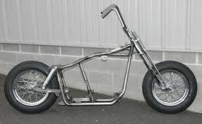 rolling chassis bobber frame harley for sale
