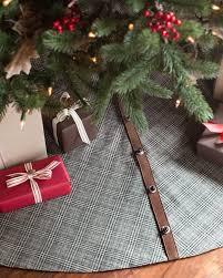 Plaid Christmas Tree Glen Plaid Tree Skirt Balsam Hill