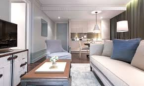 One Bedroom Suite City View Oriental Residence Bangkok - One bedroom suite