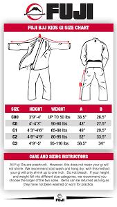 Unusual Childrens Measurement Chart Karate Suit Sizes Chart