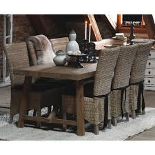 Rattan Kitchen Furniture Retro Style Of Wicker Dining Chairs All Modern Chair Wicker